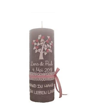 Hochzeitskerzen im Kerzen Shop zu guenstigen Preisen kaufen!