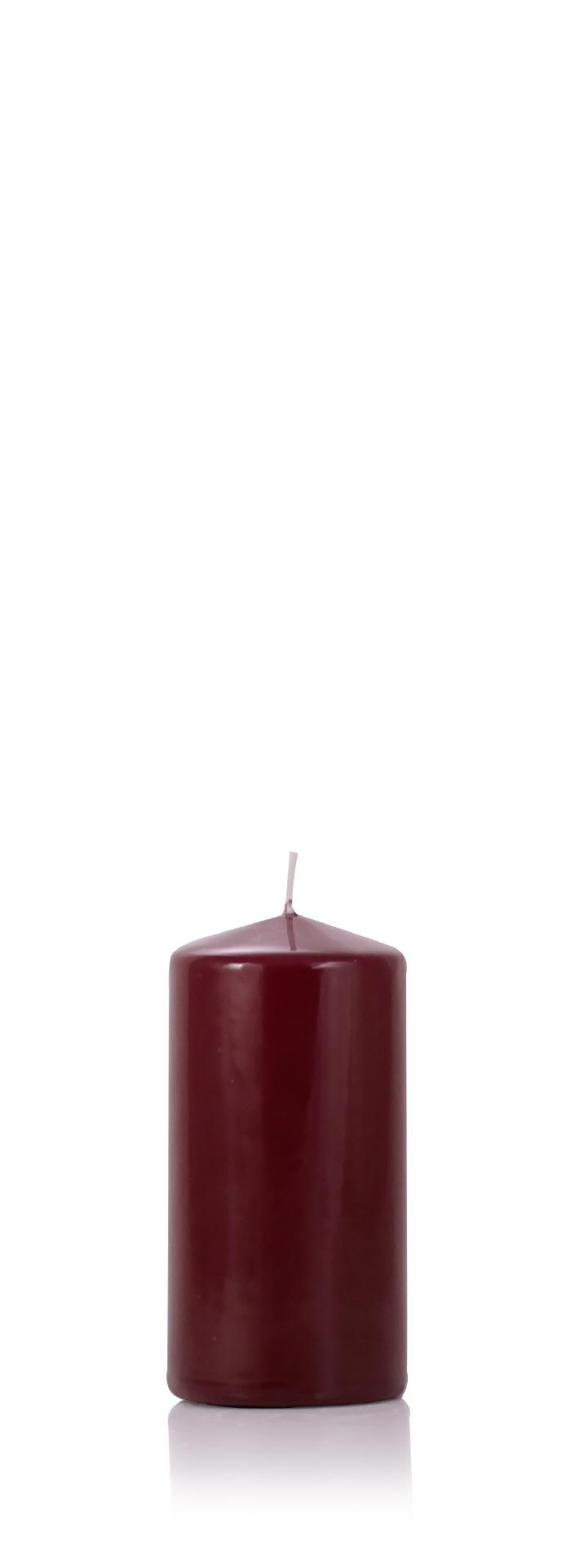 lackkerze hochglanz bordeaux 120 x 60 mm im kerzen shop zu guenstigen preisen kaufen. Black Bedroom Furniture Sets. Home Design Ideas