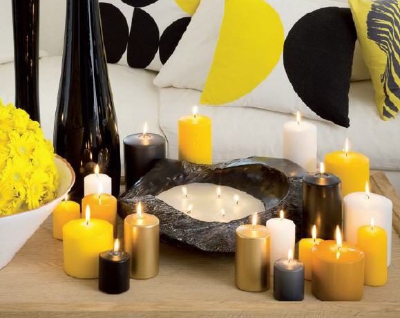 stumpenkerzen luxus light im kerzen shop zu guenstigen preisen kaufen. Black Bedroom Furniture Sets. Home Design Ideas