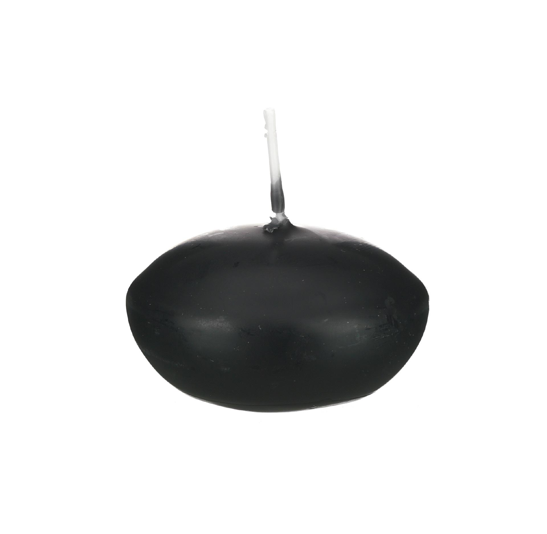24er schwimmkerzen 45 mm schwarz im kerzen shop zu. Black Bedroom Furniture Sets. Home Design Ideas